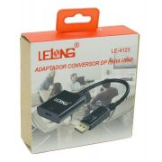 ADAPTADOR/CABO | DISPLAYPORT X HDMI | LELONG | LE-4123