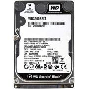 HD NOTEBOOK | SATA | WD3200BEKT | WESTERN DIGITAL | 320GB | S/N