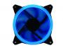 Kit 3 Cooler Fan Gamer 120mm Gabinete Led Azul Gammingmaster