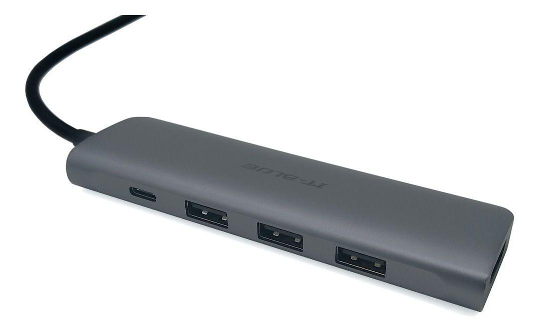 ADAPTADOR/CABO   MAC   IT-BLUE   40303   DA300   USB-C 3.1 x HDMI/USB-C/USB