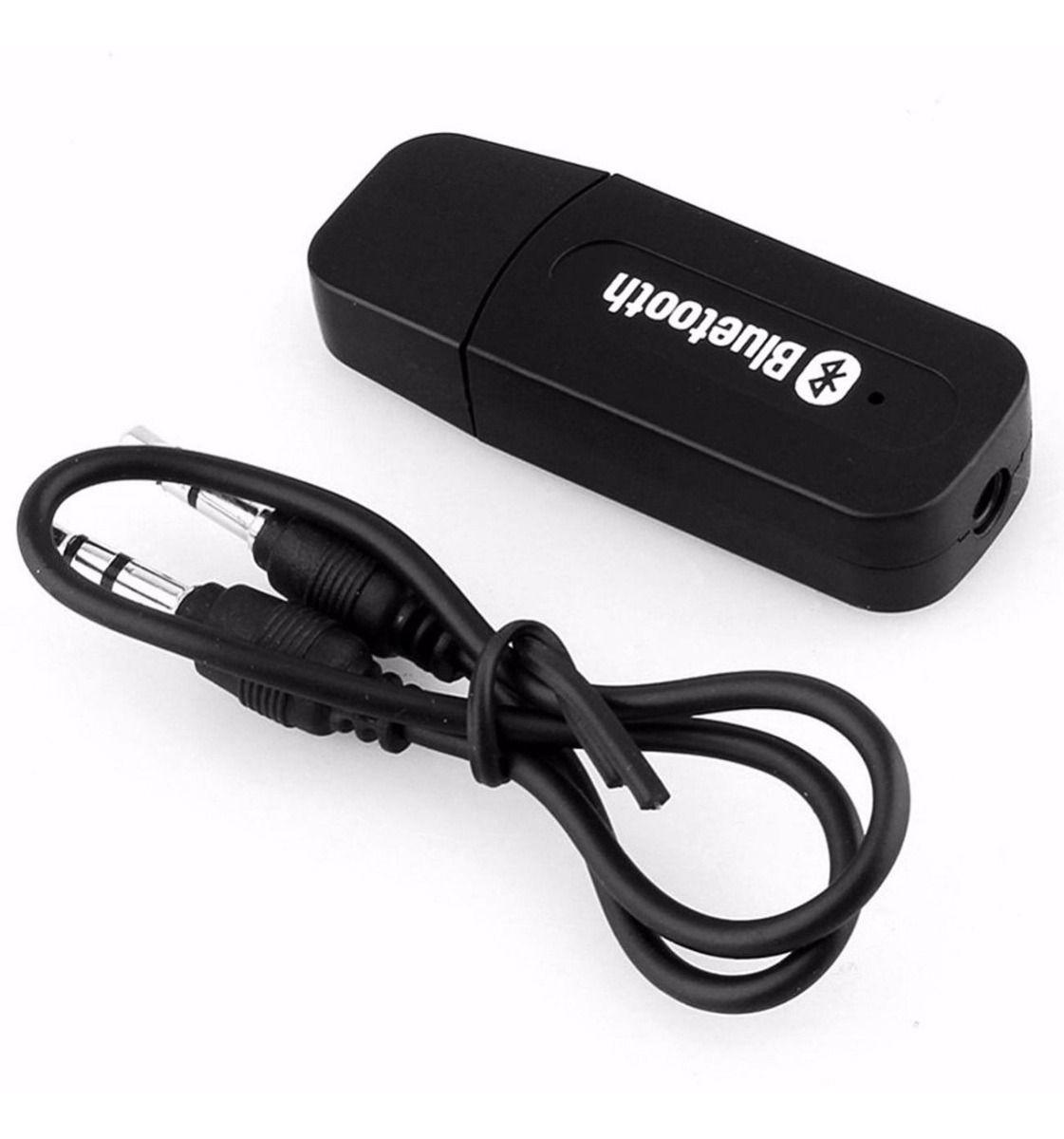 ADAPTADOR/CABO | RECEPTOR BLUETOOTH USB P2 AUXILIAR PARA SOM