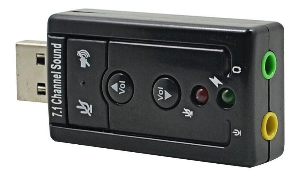ADAPTADOR/CABO PLACA DE SOM | USB 7.1 | USOM-10