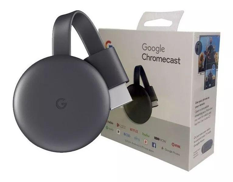 Chromecast 3 Hdmi 1080p Edição 2019 Original Google Lacrado