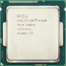 CPU 1150 | CORE I3 4160 | SR1PK | INTEL | 3.6 GHZ