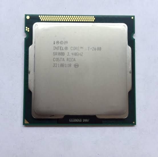 CPU 1155 | CORE I7 2600 | SR00B | INTEL | 3.40 GHZ