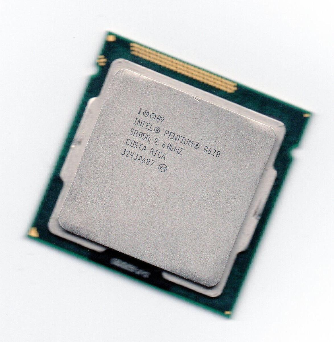 CPU 1155 | PENTIUM G620 | SR05R | INTEL | 2.60 GHZ