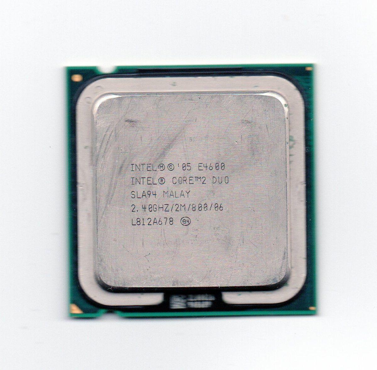 CPU 775 | CORE 2 DUO E4600 | SLA94 | INTEL | 2.40GHZ