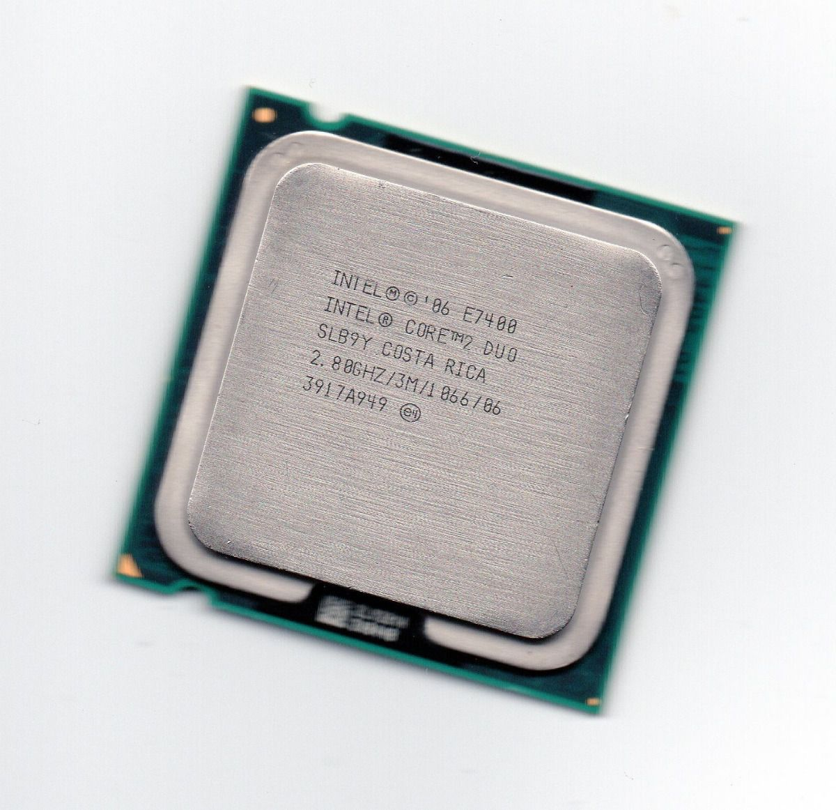 CPU 775 | CORE 2 DUO E7400 | SLB9Y | INTEL | 2.80 GHZ