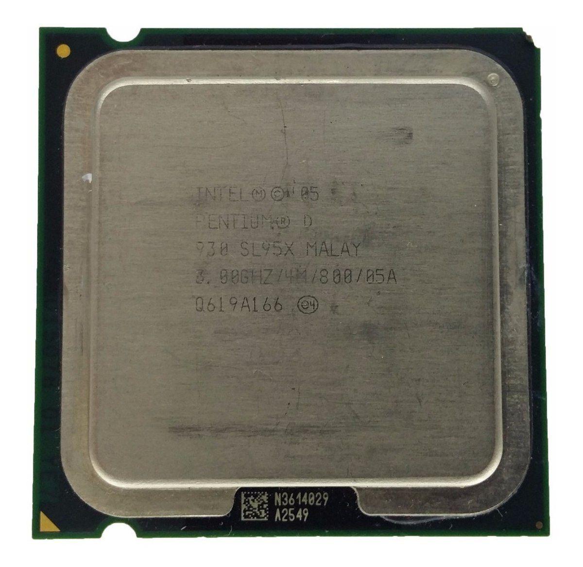 CPU 775 | PENTIUM D 930 | SL94R | INTEL | 3.00 GHZ