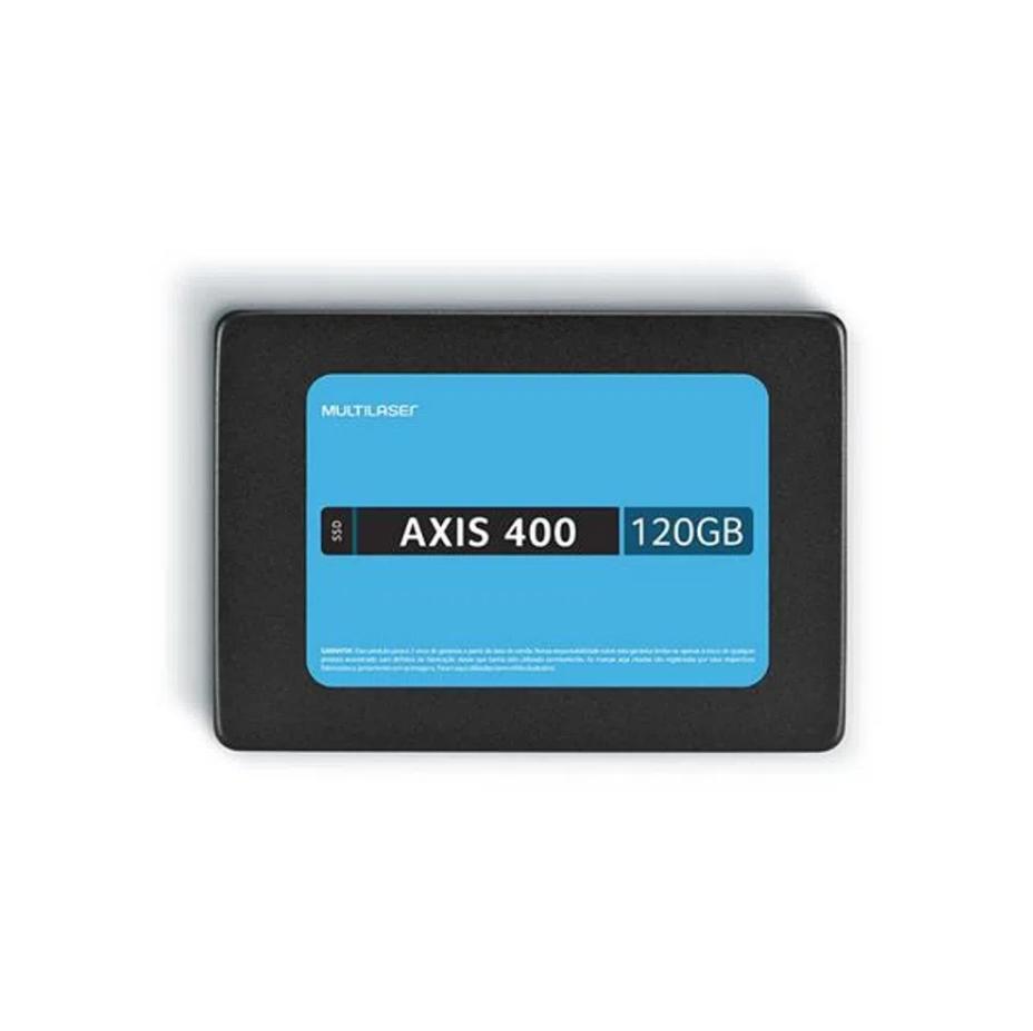Disco sólido interno Multilaser AXIS 400 SS101 120GB preto