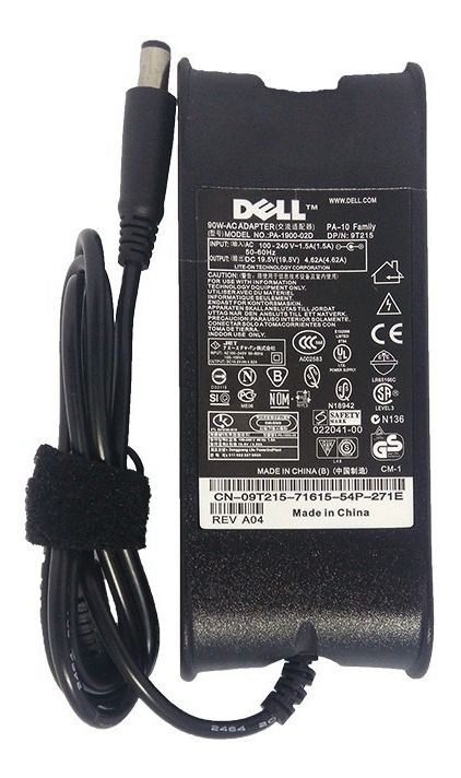 FONTE | NOTEBOOK | DELL | PA-1900-02D | 19.5V 3.34A | PLUG LARGO