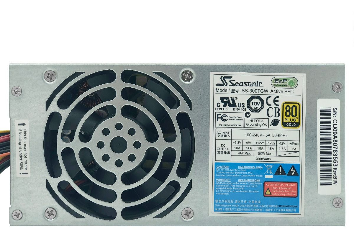 FONTE | PC | SEASONIC | SS-300TGW | 100V/240V 5A 50-60HZ | 300 W