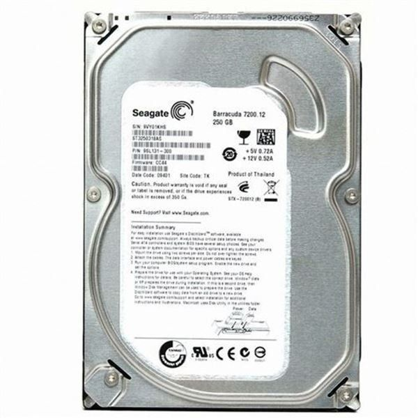 HD DESKTOP | SATA | ST3250318AS | SEAGATE | 250GB | S/N