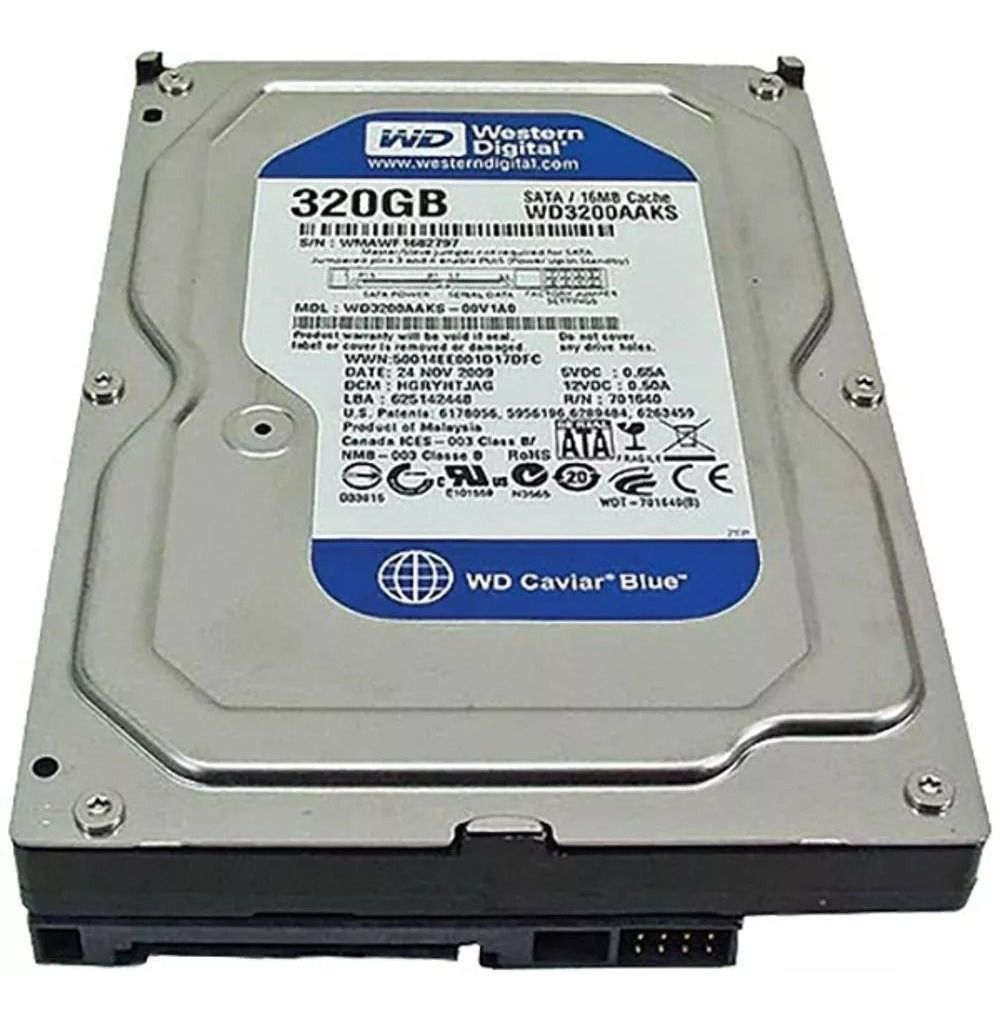 HD DESKTOP | SATA | WD3200AA | WESTERN DIGITAL | 320GB | S/N