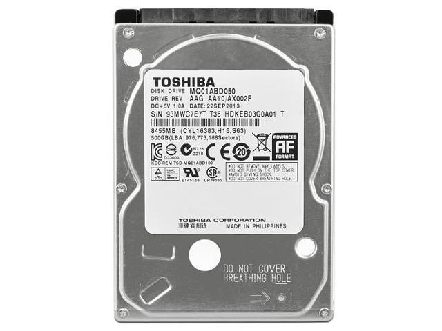 HD NOTEBOOK | SATA | MQ01ABF050 | TOSHIBA | 500GB | S/N