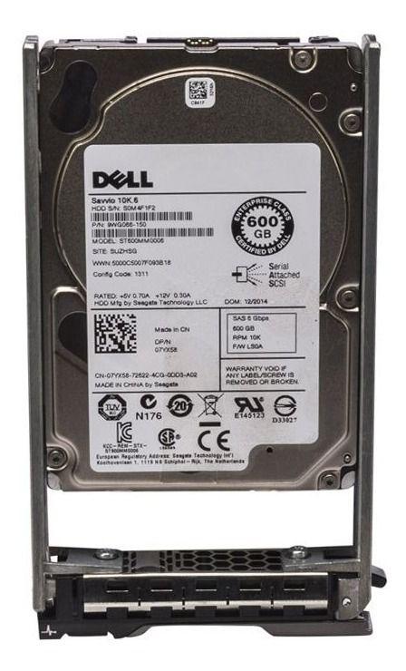 "HD SERVIDOR | SAS 2,5"" | ST600MP0005 | DELL | 600GB | S/N"