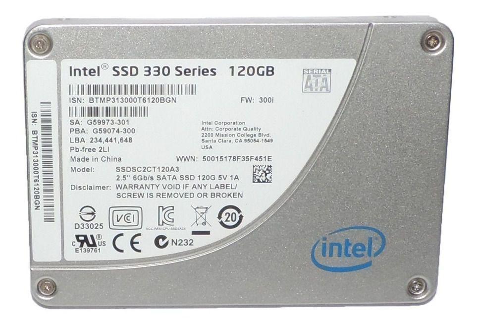 HD SSD | SATA 330 SERIES | INTEL | 120GB