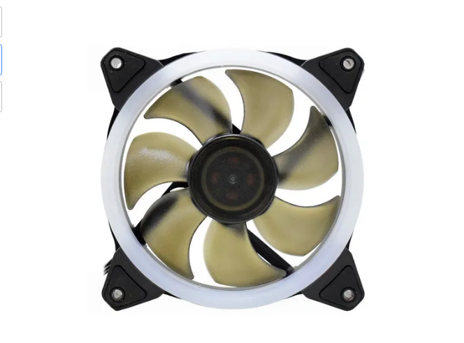 Kit 3 Cooler Fan Gamer 120mm Gabinete Led Azul Gammingmaster