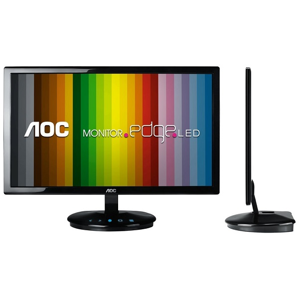 "Monitor AOC 21,5"" LED Widescreen E2243FWK Full HD VGA /DVI"