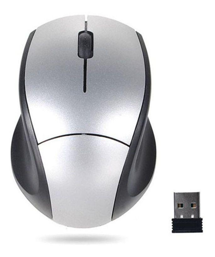 MOUSE | USB | SEM FIO | KNUP | W104 | 1200 DPI | CINZA