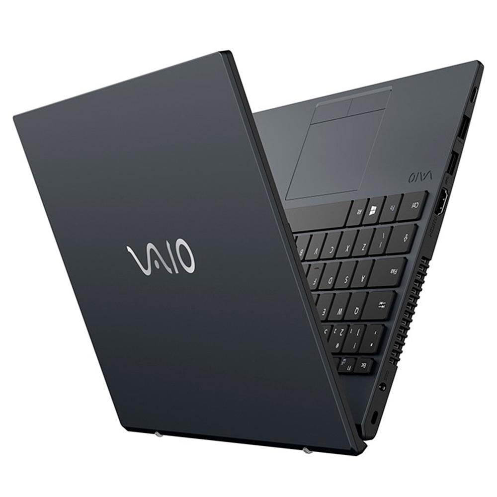 """Notebook Vaio FE14 Core i5 10 geração 8gb 25gb SSD windows 10 - 14"""" - chumbo"""