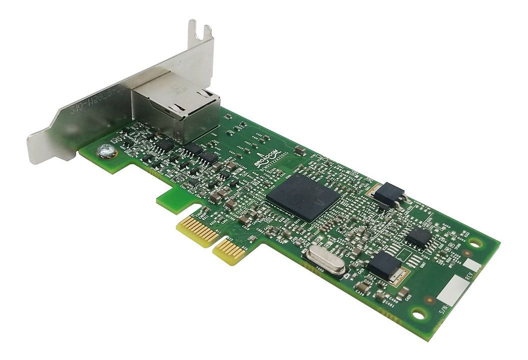 PLACA DE REDE MINI PC | BROADCOM LOW PROFILE | 10/100/1000