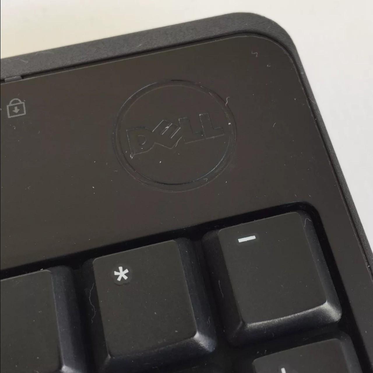 Teclado Dell Abnt 2 Com Ç - Usb Com Fio Kb 212-b Preto