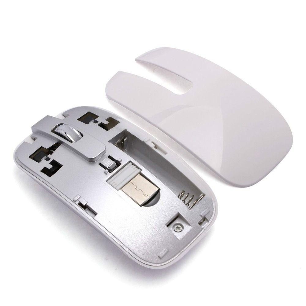 TECLADO | TECLADO E MOUSE | USB | SEM FIO | K-06 | BRANCO