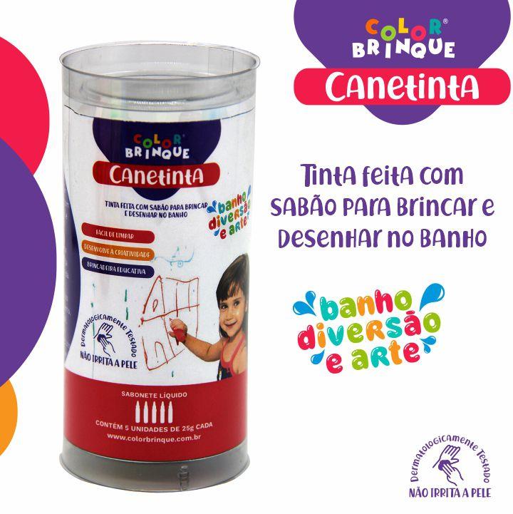 Canetinta  - Color Brinque - Tinta par...