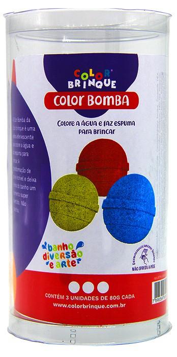 Color Bomba  - Color Brinque - Colore a água e faz espuma para brincar