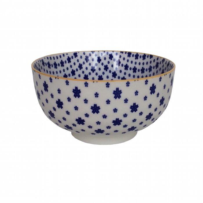 Bowl Cerâmico Petit Blue M - 2 pçs