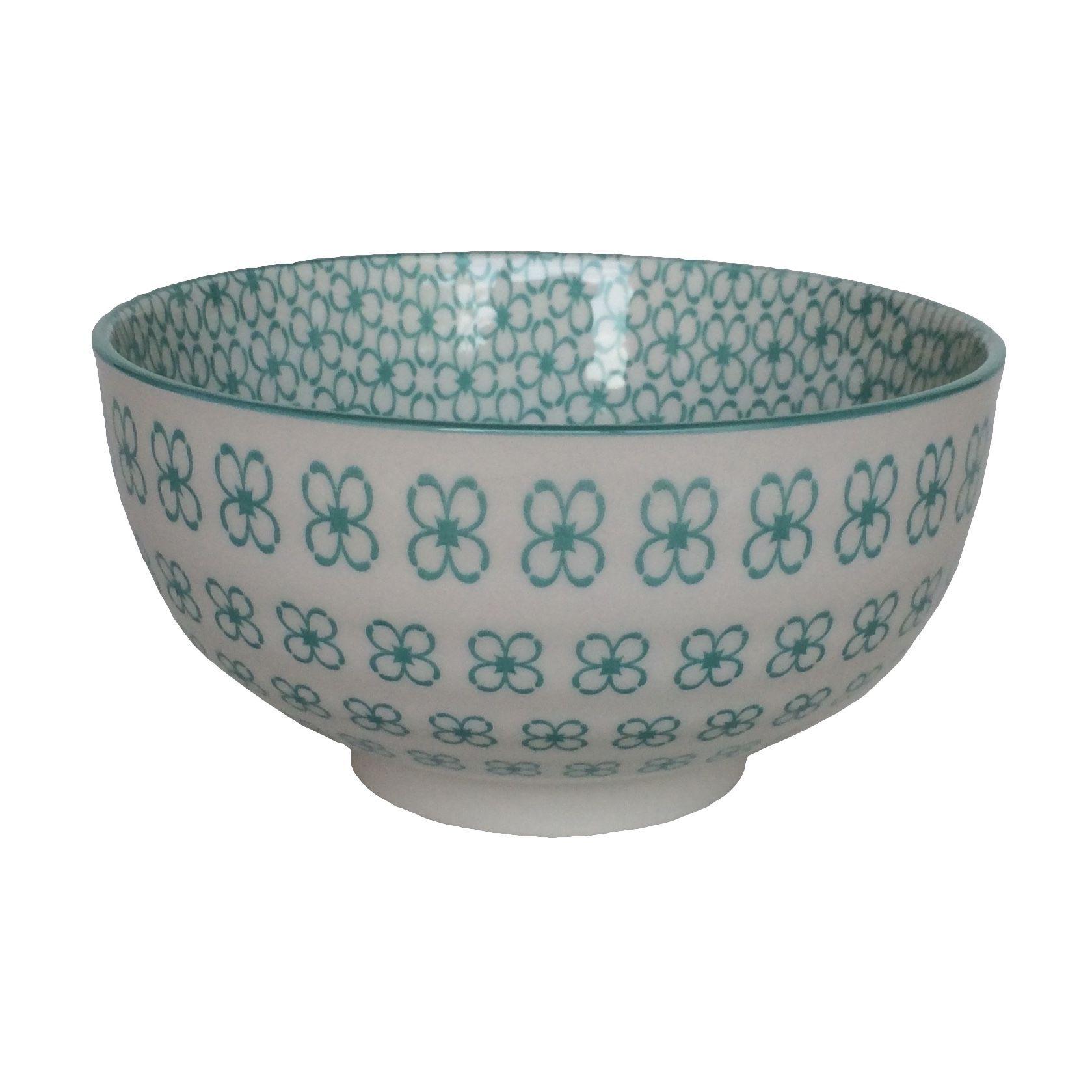 Bowl Cerâmico Verde Água M