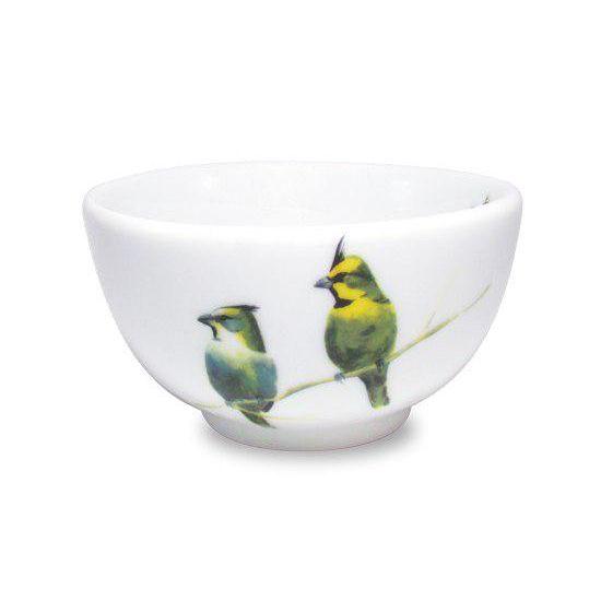 Bowl de Porcelana Cardeal Amarelo