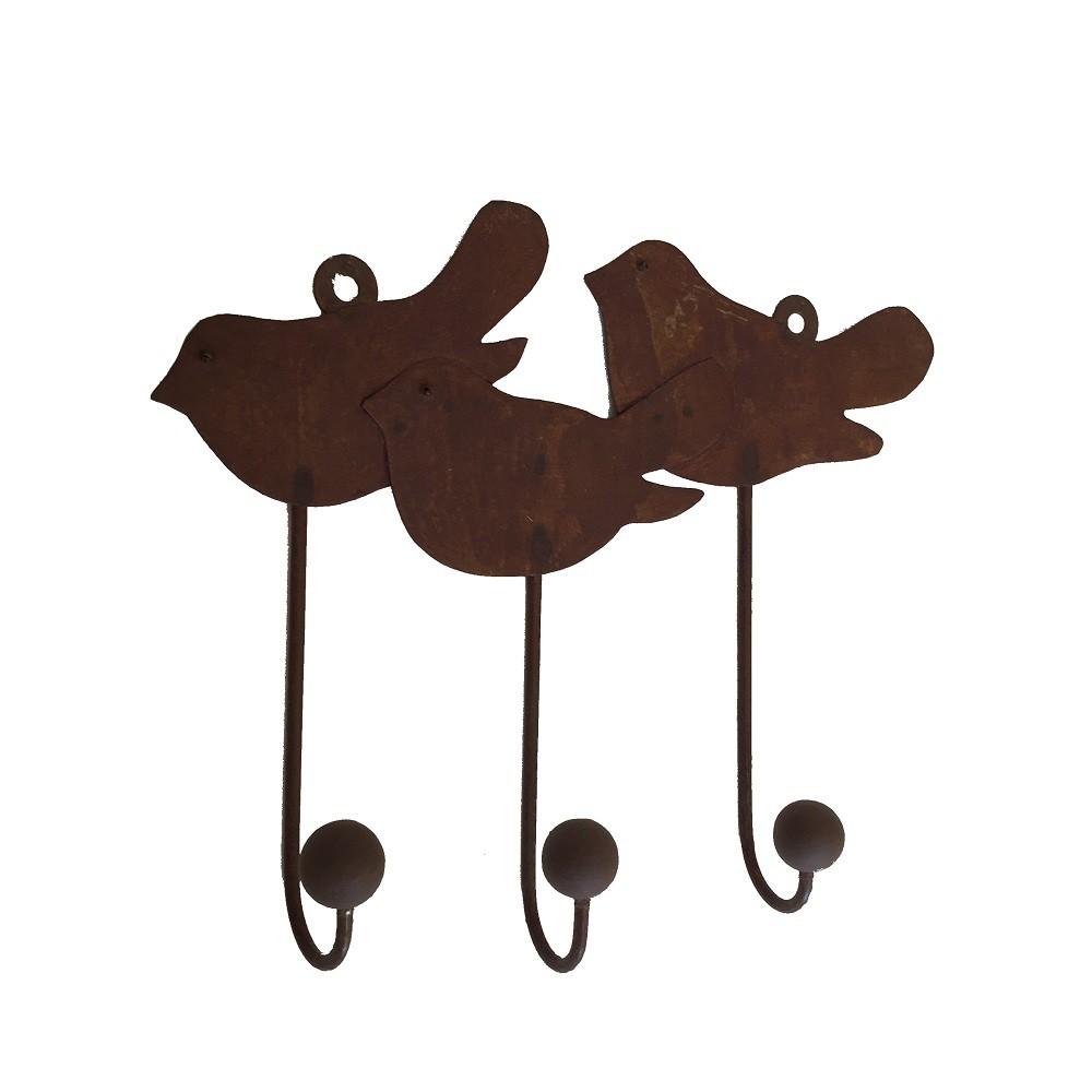 Cabideiro Metálico Birds