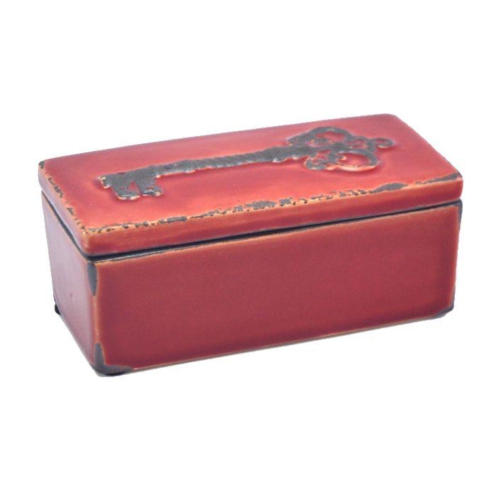 Caixa Cerâmica Le Clé Vermelha