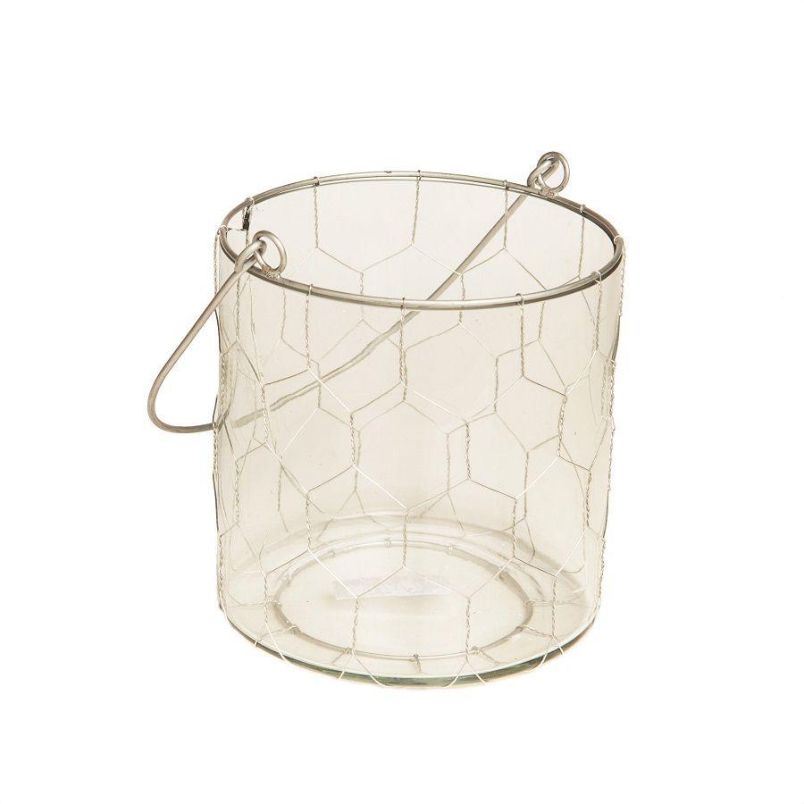 Cesto de Vidro Bucket P