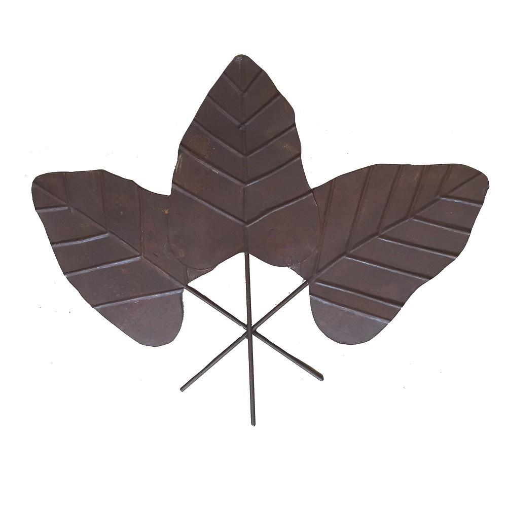 Decoração de Parede Triple Leaf
