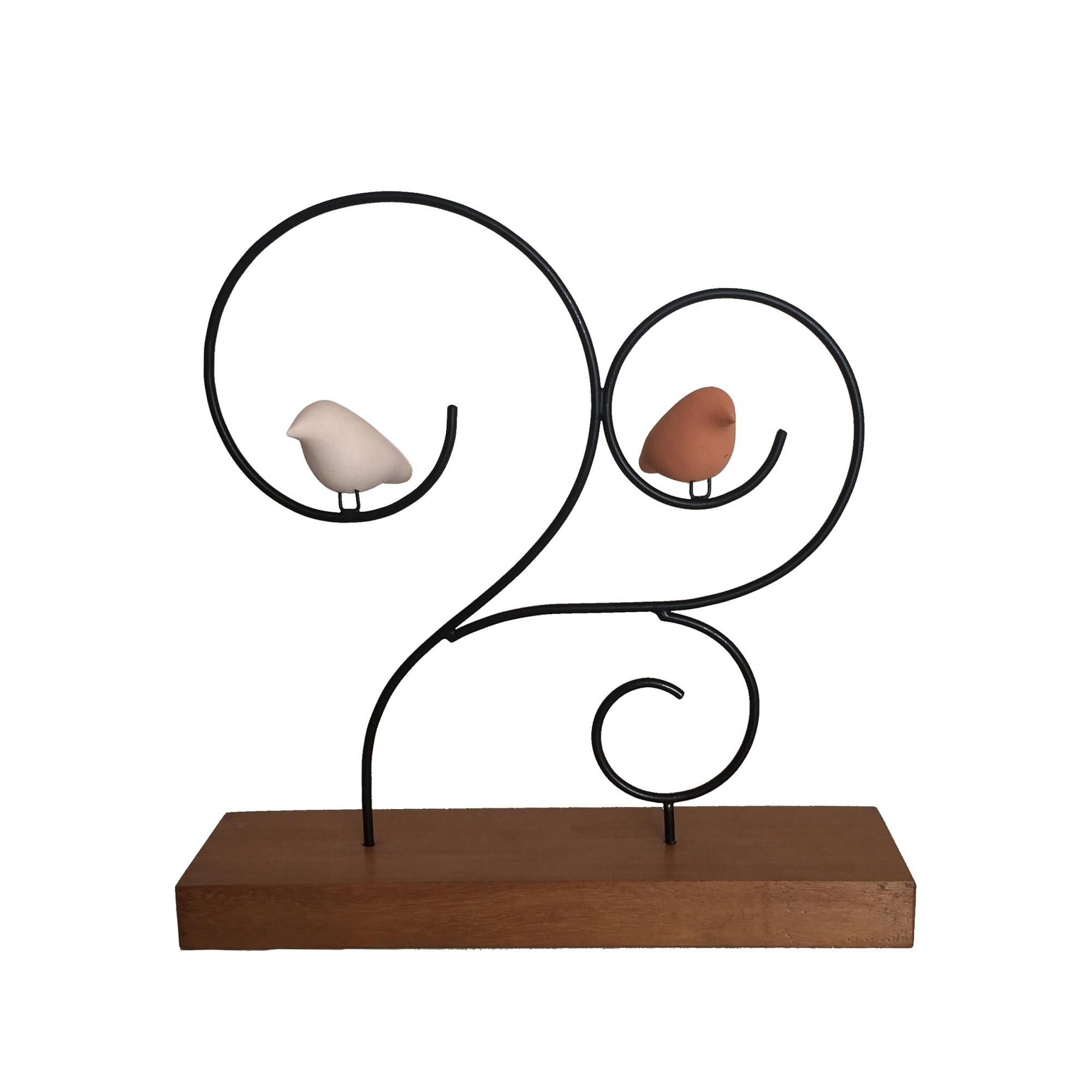 Escultura de Madeira e Ferro Arvoredo M