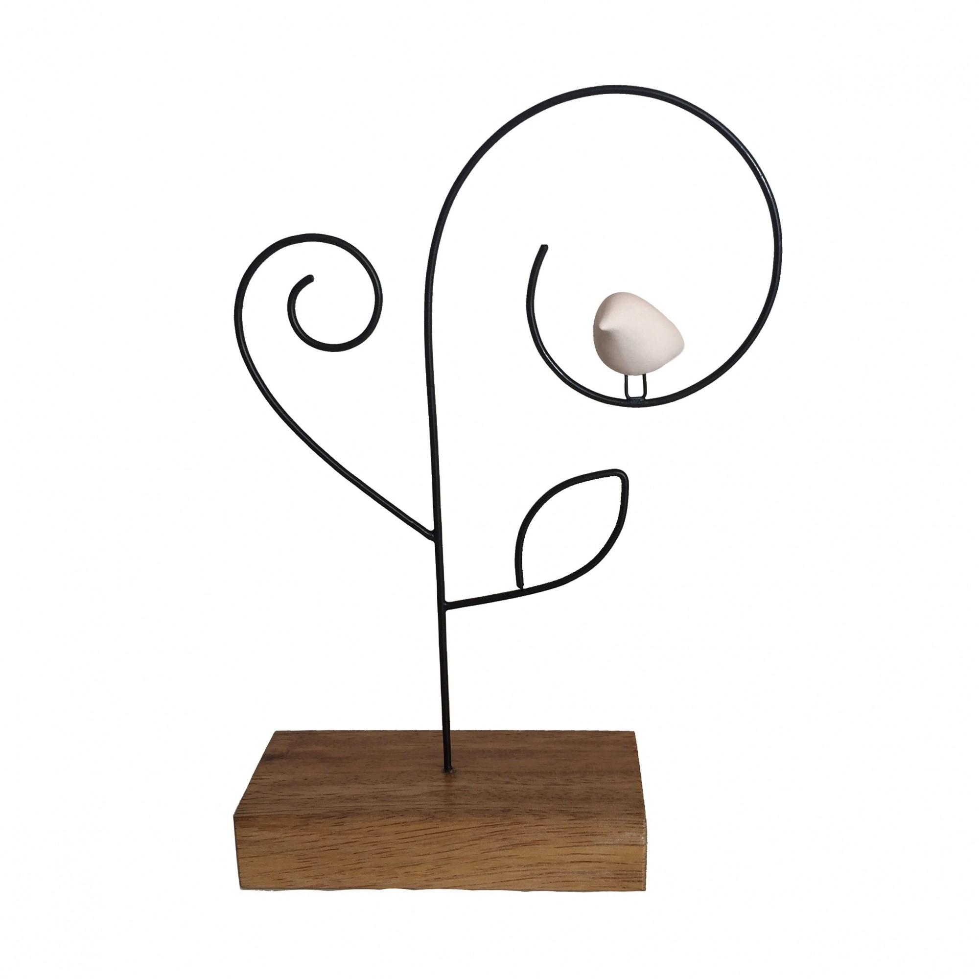 Escultura de Madeira e Ferro Arvoredo P