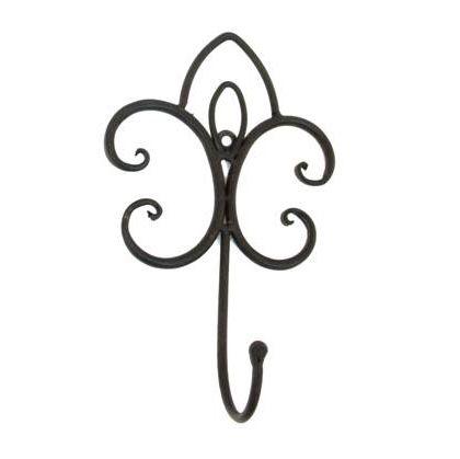 Gancho Decorativo em Ferro Suri