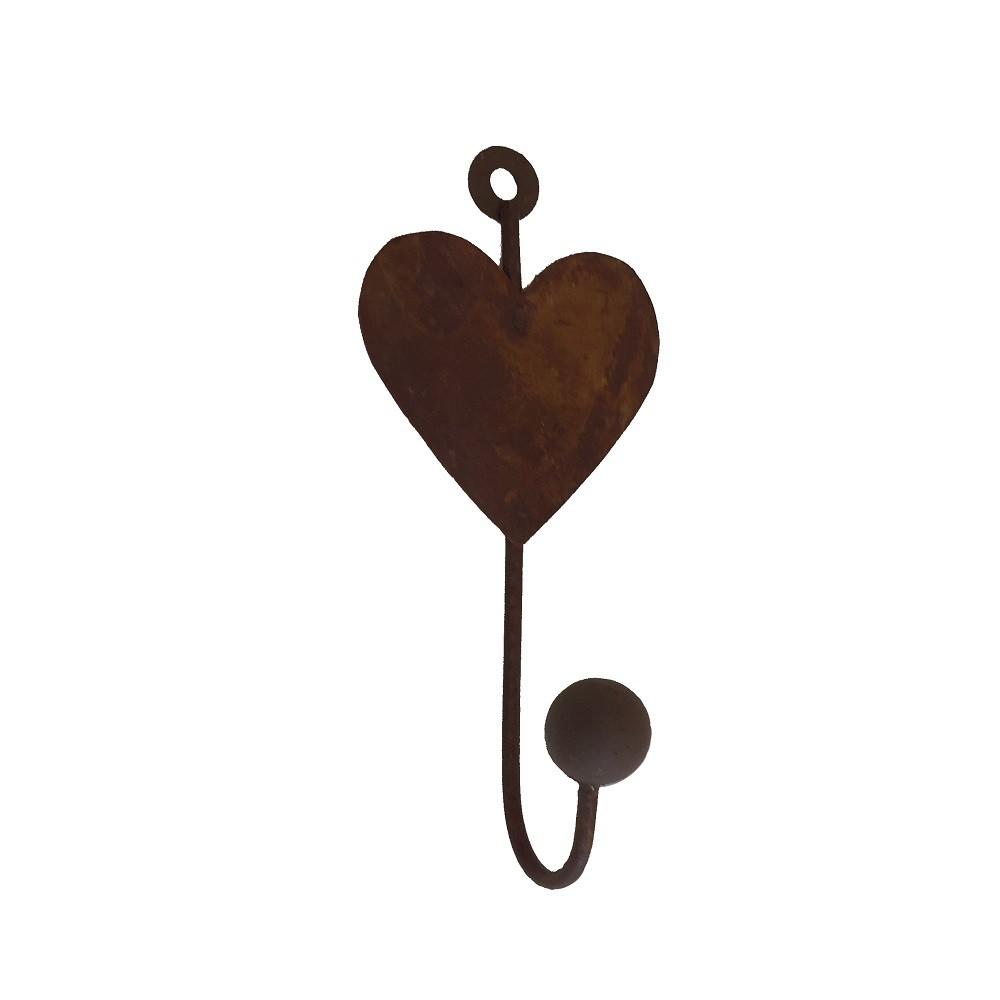 Gancho Metálico Coração