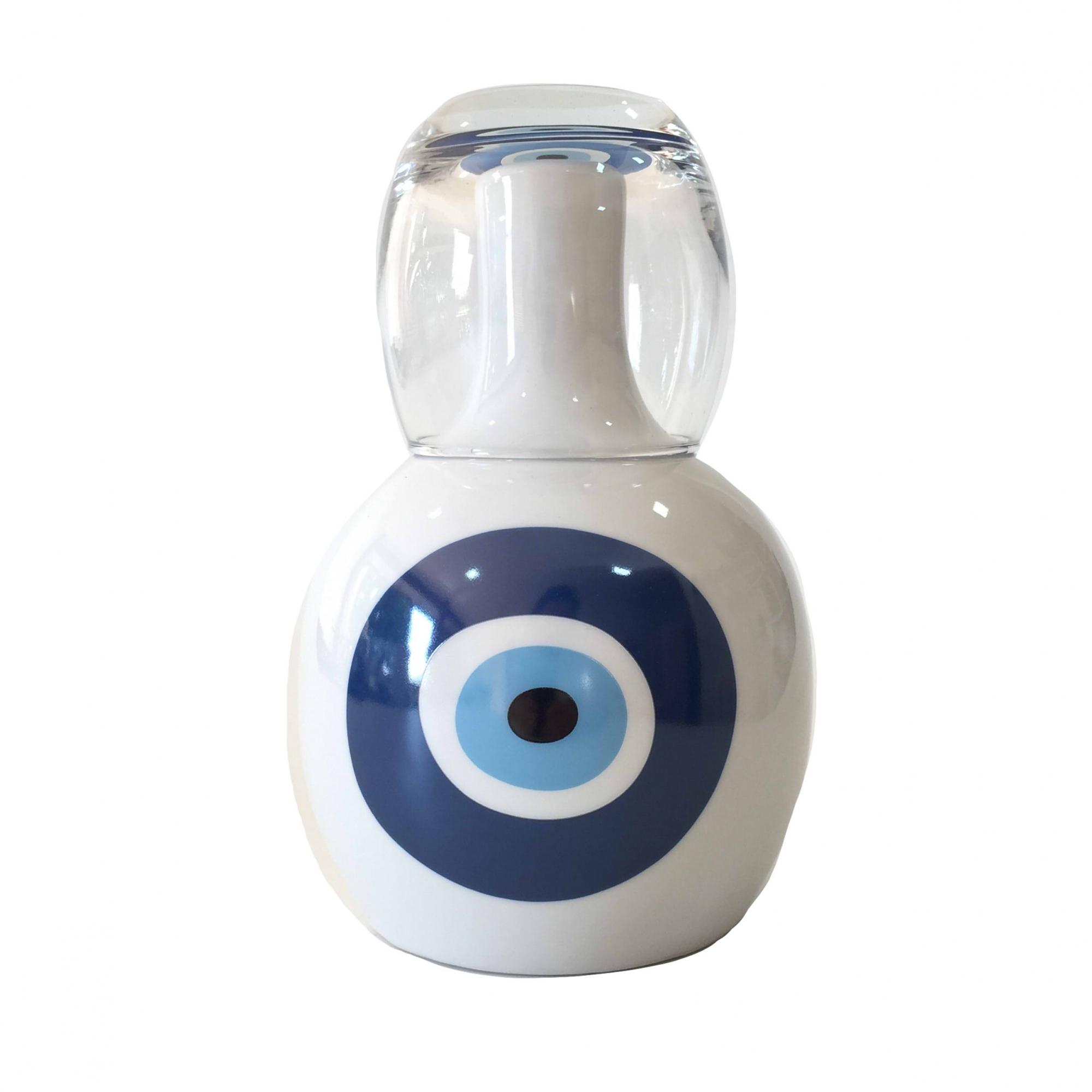 Moringa Clássica Olho Grego Azul