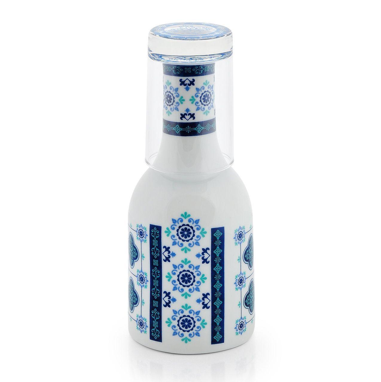 Moringa de Porcelana para Água Azulejo
