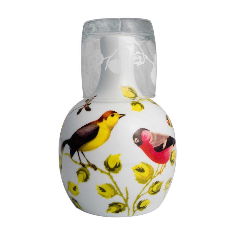 Moringa de Porcelana para Água Fauna Vintage