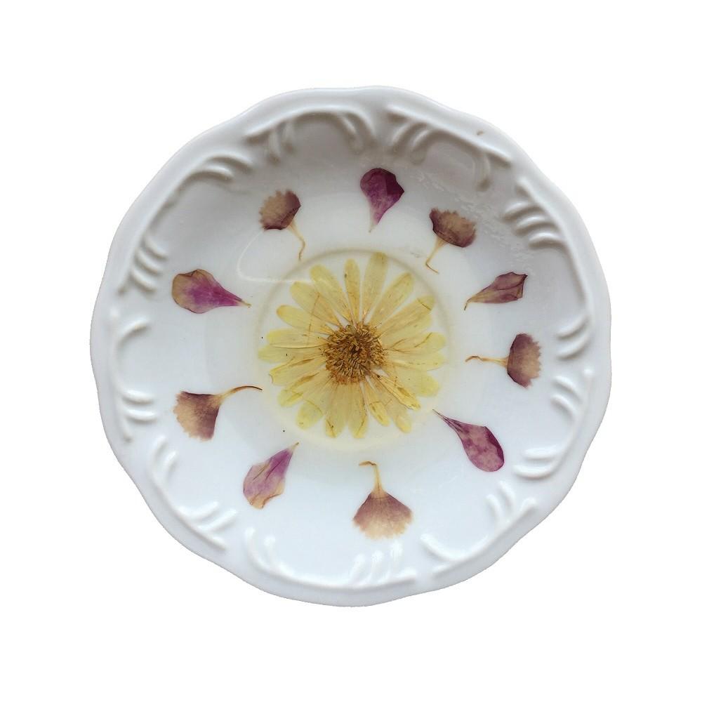 Prato de Porcelana Florada 16 cm