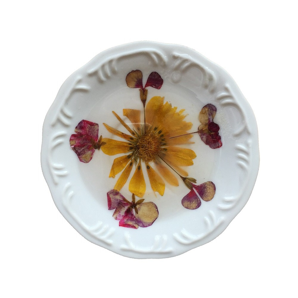 Prato de Porcelana Jardim 16 cm