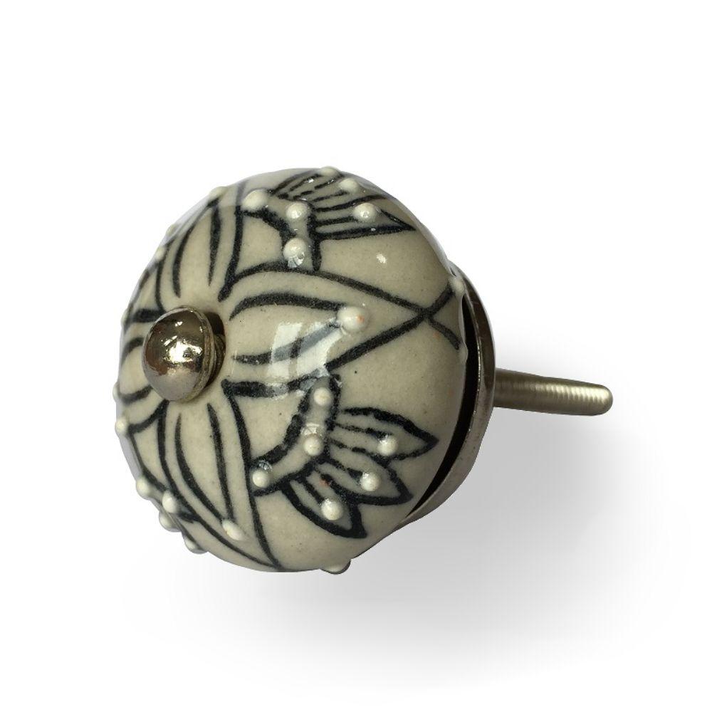 Puxador de Porcelana Luna