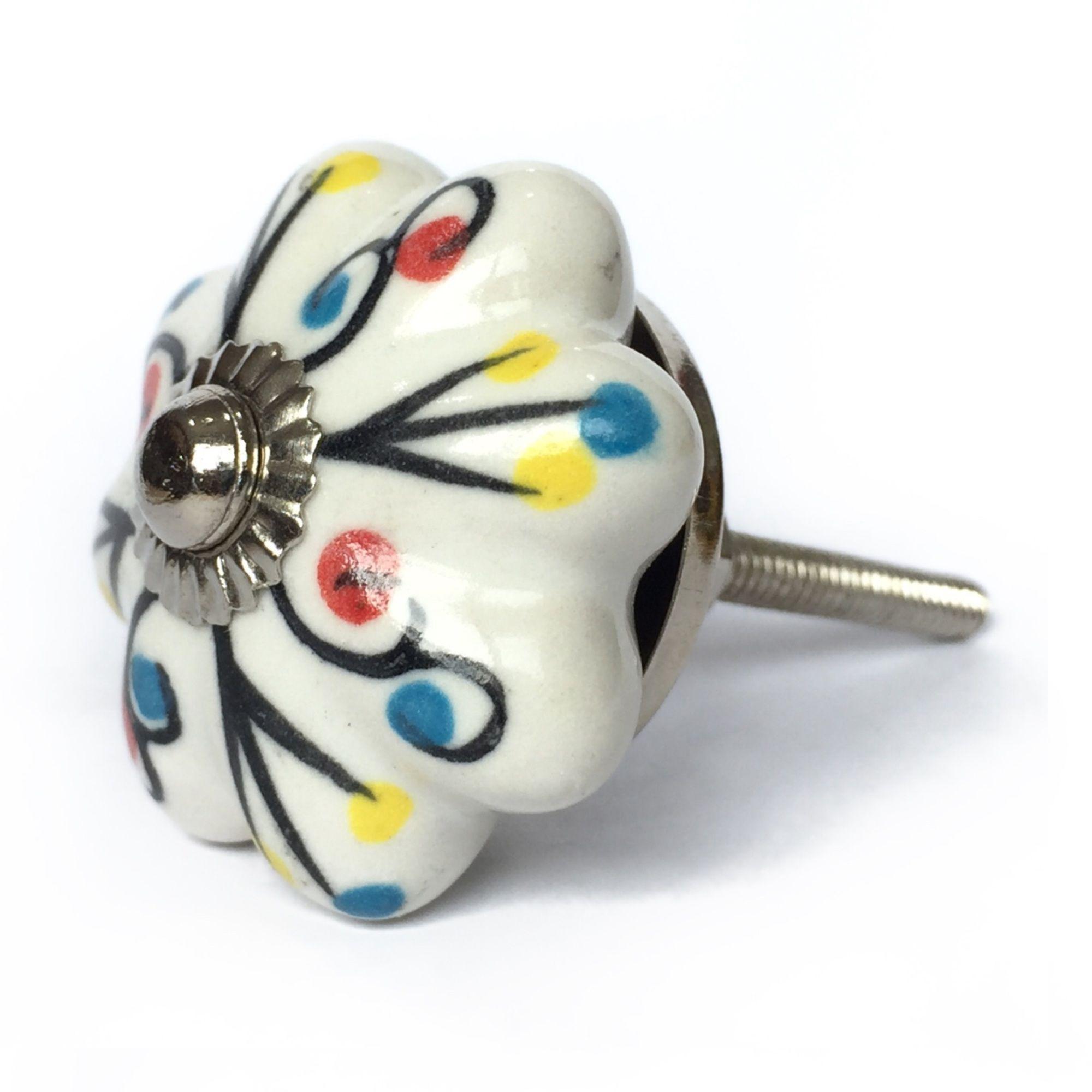 Puxador de Porcelana Natalie
