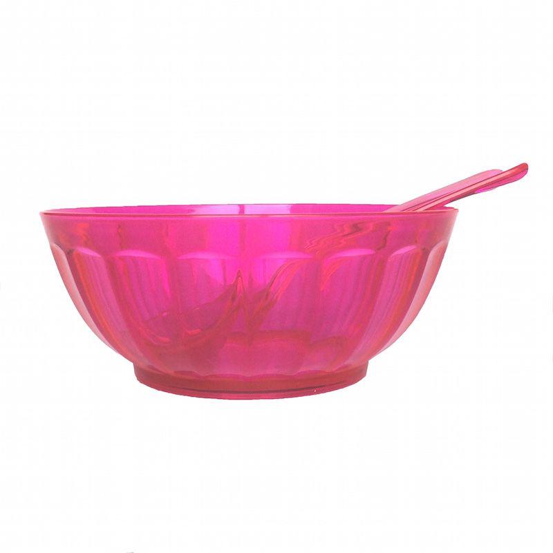 Saladeira Rainbow Rosa