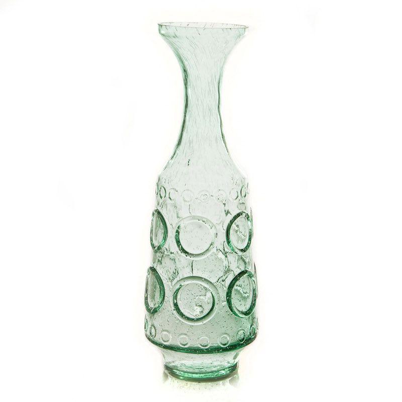 Vaso de Vidro Verde  Alke P